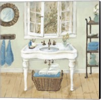Framed French Country Bathroom I