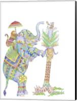 Framed Mouse Pocket Elephant
