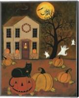 Framed Halloween Night