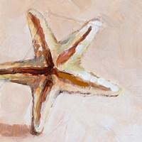 Framed Copper Starfish