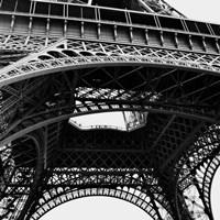 Framed Eiffel Views Square III
