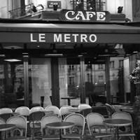 Framed Paris Scene II