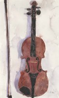 Framed Violin