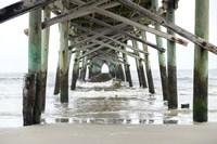 Framed Oceanic Pier, Wilmington, North Carolina