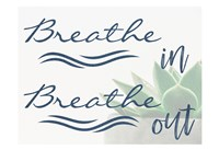 Framed Breathe In