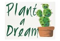 Framed Plant A Dream 1