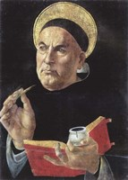 Framed St. Thomas Aquinas