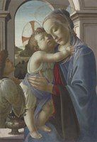 Framed Virgin and Child with an Angel, 1475-85