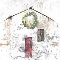 Framed Christmas House