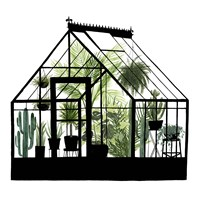 Framed Glass House I