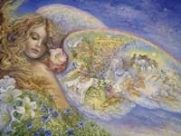 Framed Wings Of Love