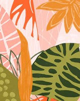 Framed Jungle Collage II