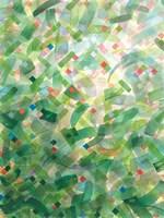 Framed Jungle Abstract I
