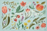 Framed Spring Botanical IV