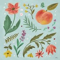 Framed Spring Botanical II
