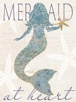 Framed Mermaid at Heart