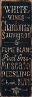 Framed White Wines