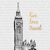 Framed Live Love Travel