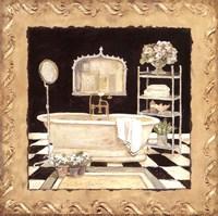 Framed Maison Bath IV