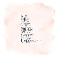 Framed Coffee x 5