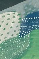 Framed Salt Shrub II Green