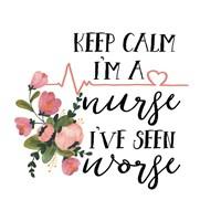 Framed Harriet Floral Nurse Inspiration II