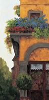 Framed Verona Balcony I