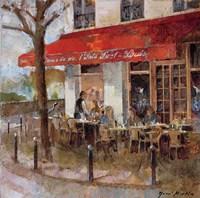Framed Cafe Saint-Louis