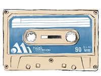Framed Mix Tape III