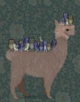 Framed Llama Owls, Full