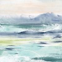 Framed Beach Tides I