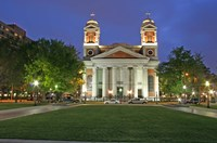 Framed Cathedral of the Immaculate Conception Mobile Alabama