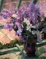 Framed Lilacs in a Window, c1880