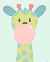 Framed Kid Giraffe