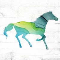 Framed Horse IV
