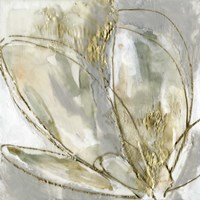 Framed Blooming Gold II