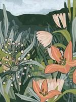 Framed Spring Valley Blooms II