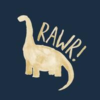 Framed Dinosaur RAWR