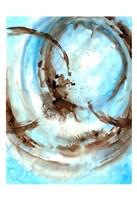 Framed Blue Blowout