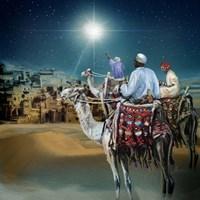 Framed Star of Bethlehem