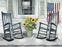 Framed All American Seaside Porch