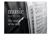 Framed Music Sound of Soul