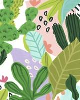 Framed Party Plants I