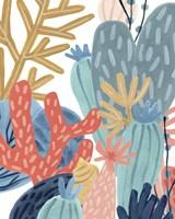 Framed Paper Reef II