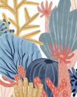 Framed Paper Reef IV