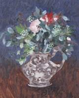 Framed Night Bouquet I
