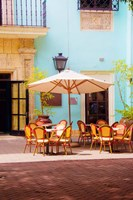 Framed Spanish Cafe