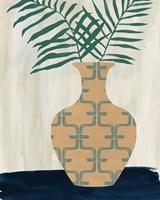 Framed Palm Branches I