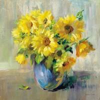 Framed Sunflower Still Life II