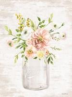 Framed Floral Bouquet 1